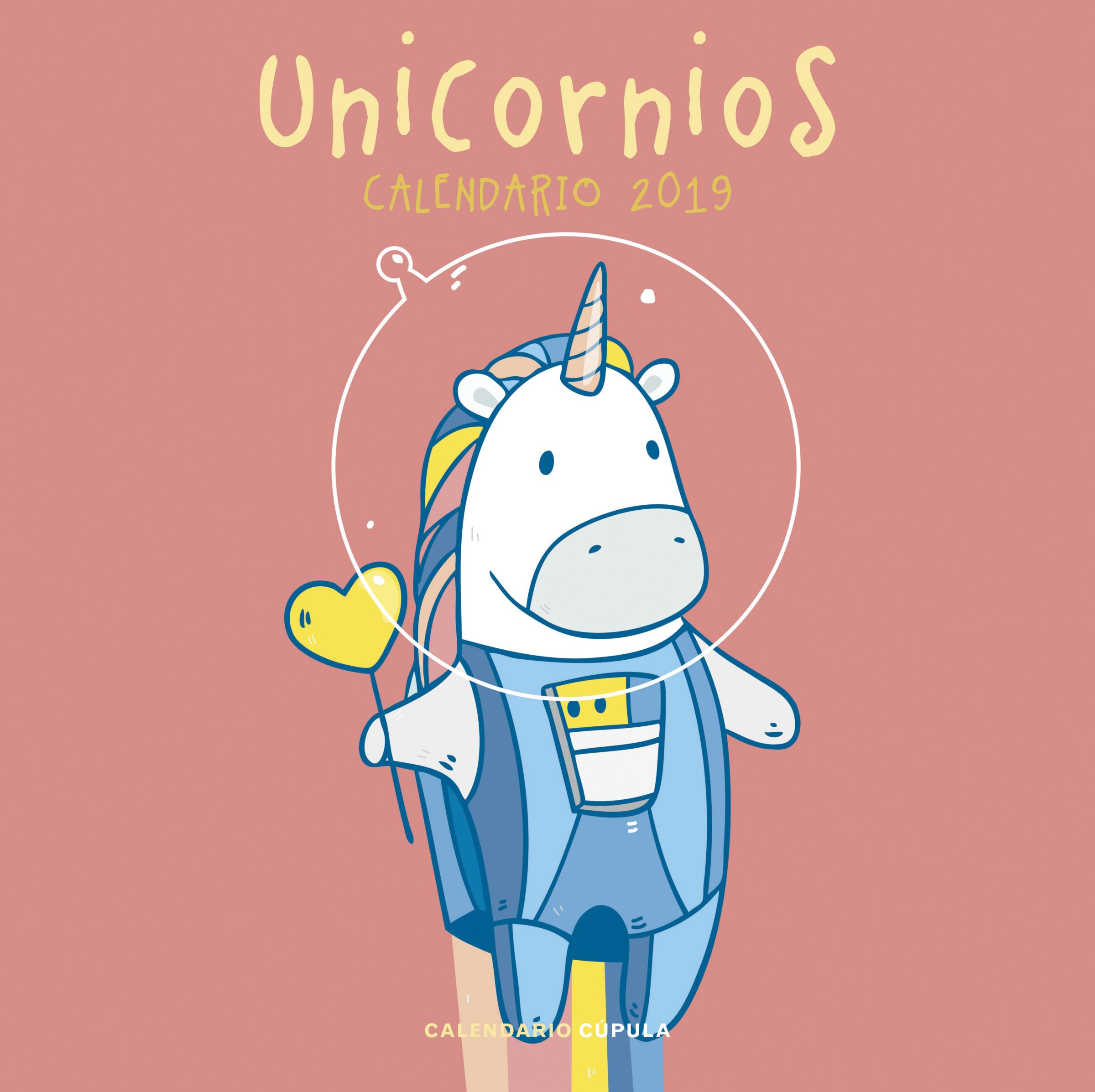 calendario unicornios 2019-9788448024758