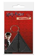mer121 llavero harry potter deathly hallows logo carded-5050293384573
