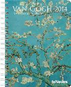 agenda 2014 van gogh 16x21cm-4002725763402