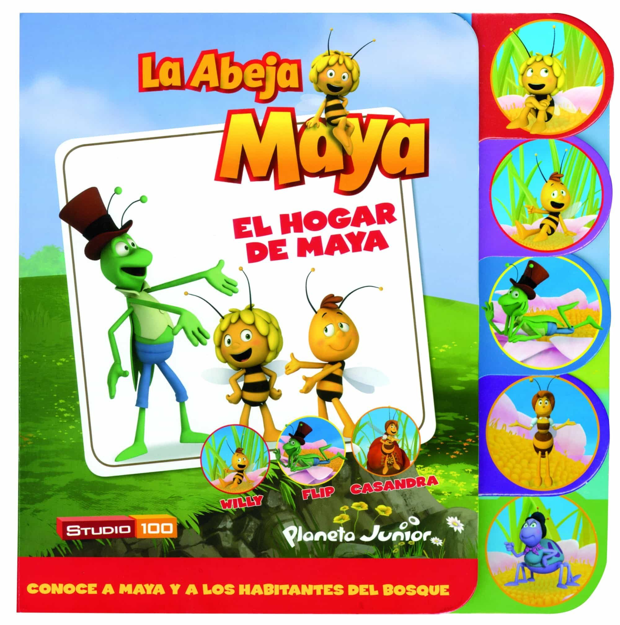 La Abeja Maya: Cuento Con Lengüetas: El Hogar De Maya por Vv.aa.