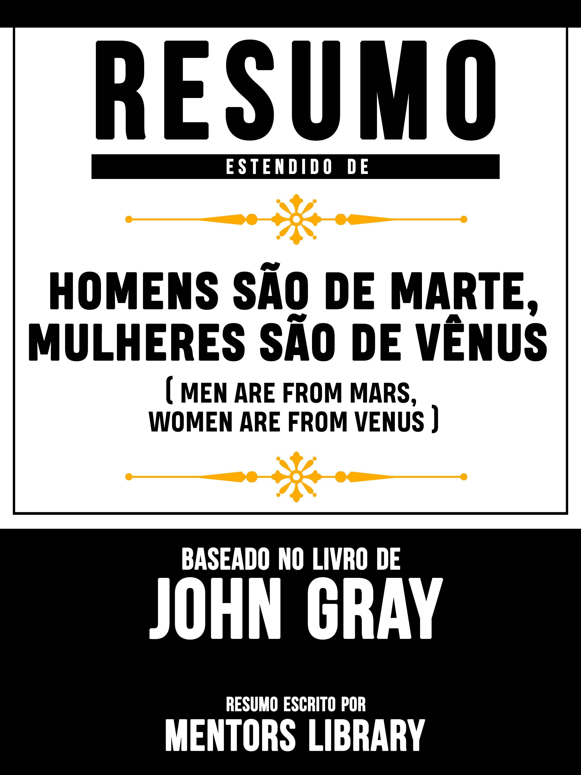 c1e792ba5 RESUMO ESTENDIDO DE HOMENS SÃO DE MARTE
