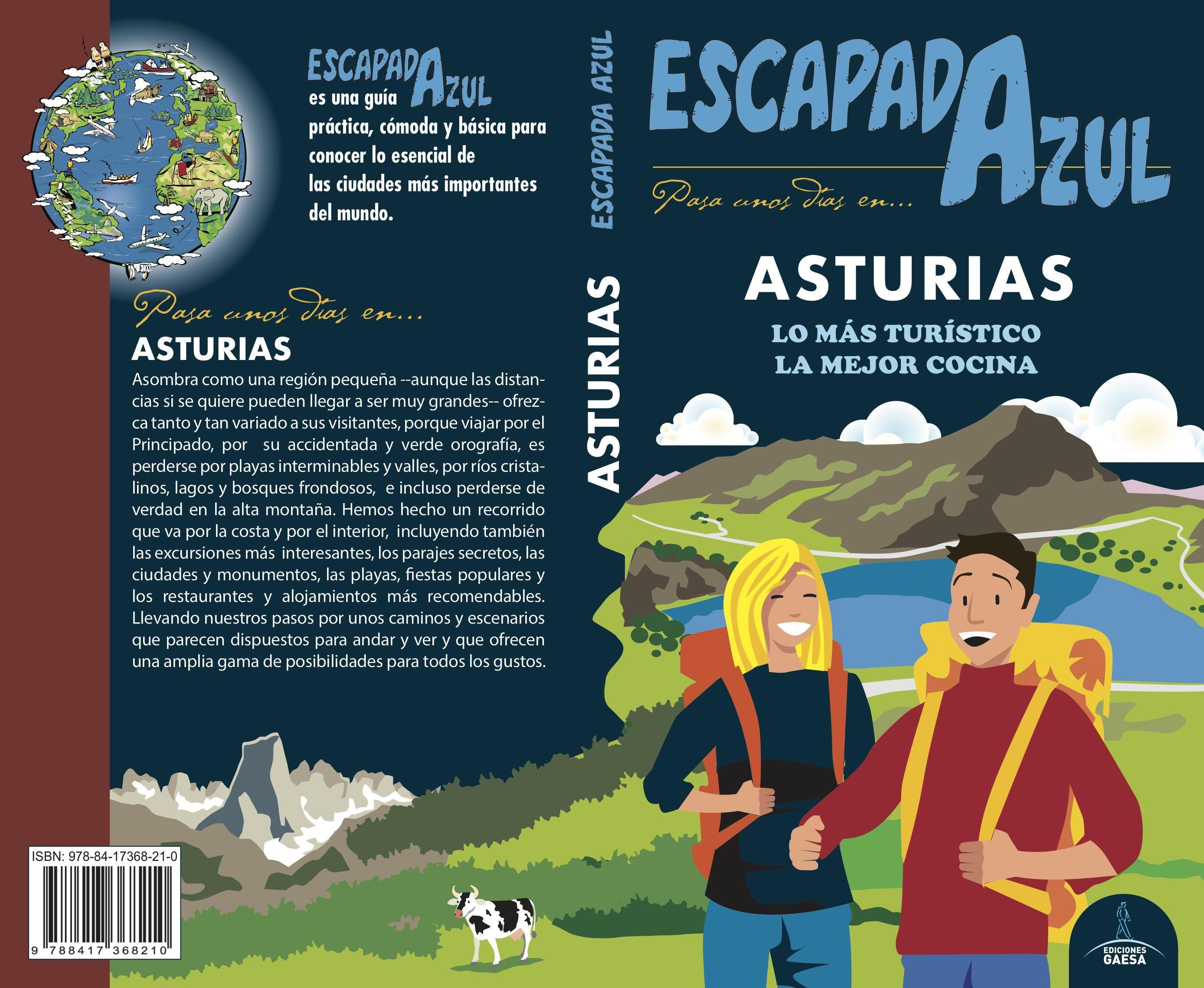 asturias 2018 (escapada azul) 3ª ed.-jesus garcia marin-9788417368210