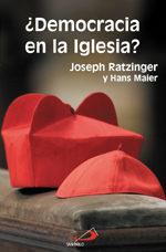 ¿democracia En La Iglesia? por Joseph Benedicto Xvi Ratzinger;                                                                                    Hans Maier epub