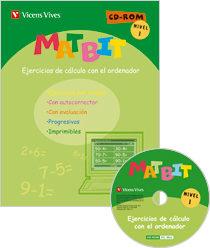 Matbit Nivel 1 + Cd-rom por Vv.aa.