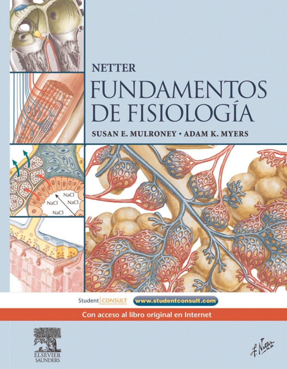 NETTER. FUNDAMENTOS DE FISIOLOGÍA + STUDENTCONSULT EBOOK | VV.AA ...