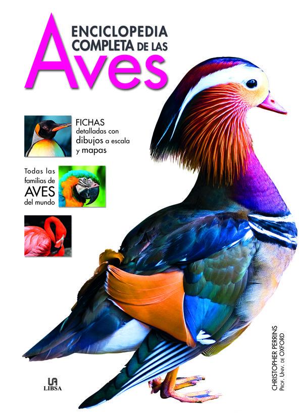 enciclopedia completa de las aves-christopher perrins-9788466223010