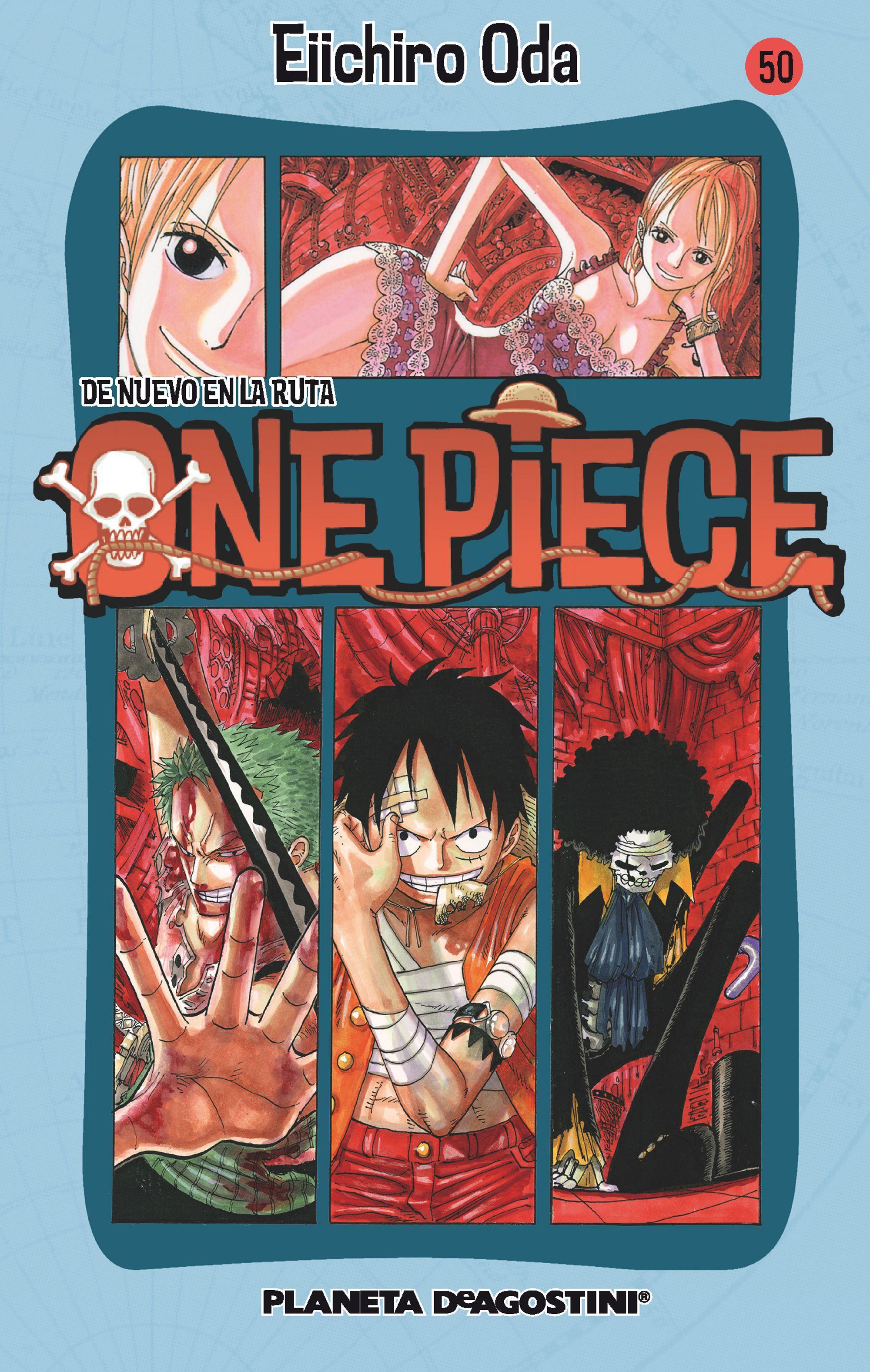 one piece nº 50-eiichiro oda-9788468472010
