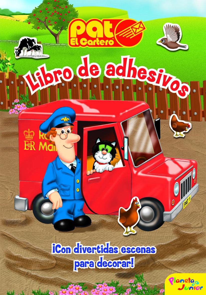 Pat El Cartero: Libro De Adhesivos por Vv.aa. epub