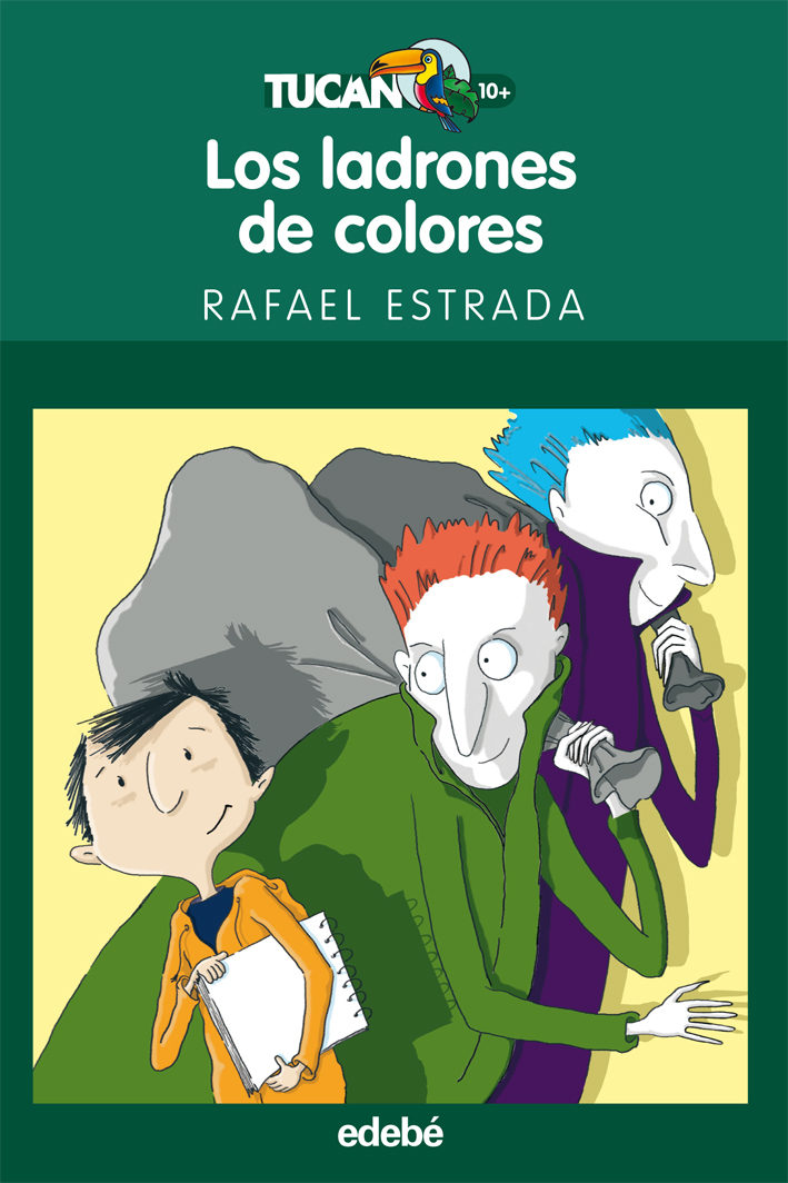 LOS LADRONES DE COLORES | RAFAEL ESTRADA | Comprar libro 9788423694020