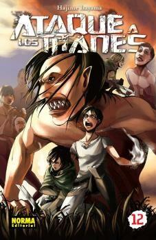 Ataque A Los Titanes 12 por Hajime Isayama