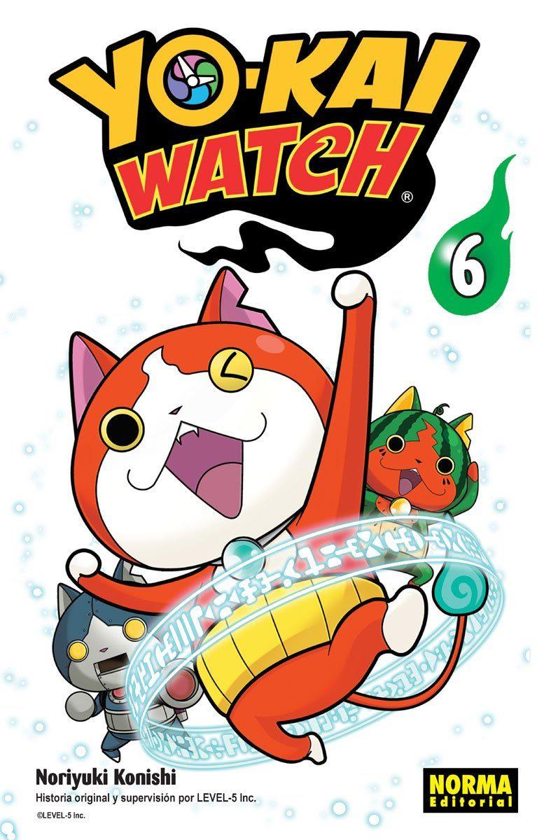 yo-kai watch 6-noriyuki konishi-9788467925920