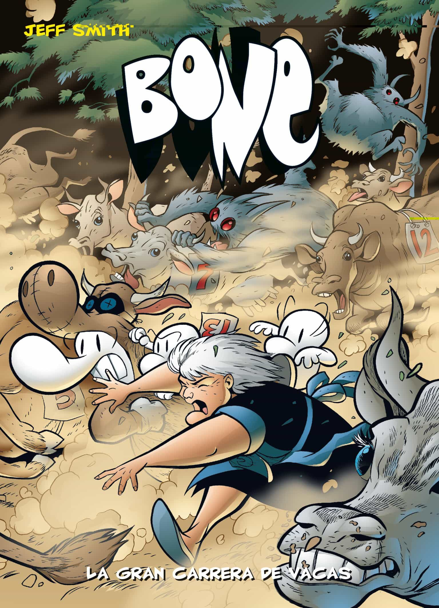 bone nº 2: la gran carrera de vacas (edicion de bolsillo)-jeff smith-9788492769520