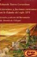 Literatura Y Facciones Cortesanas En La España Del S. Xvi
