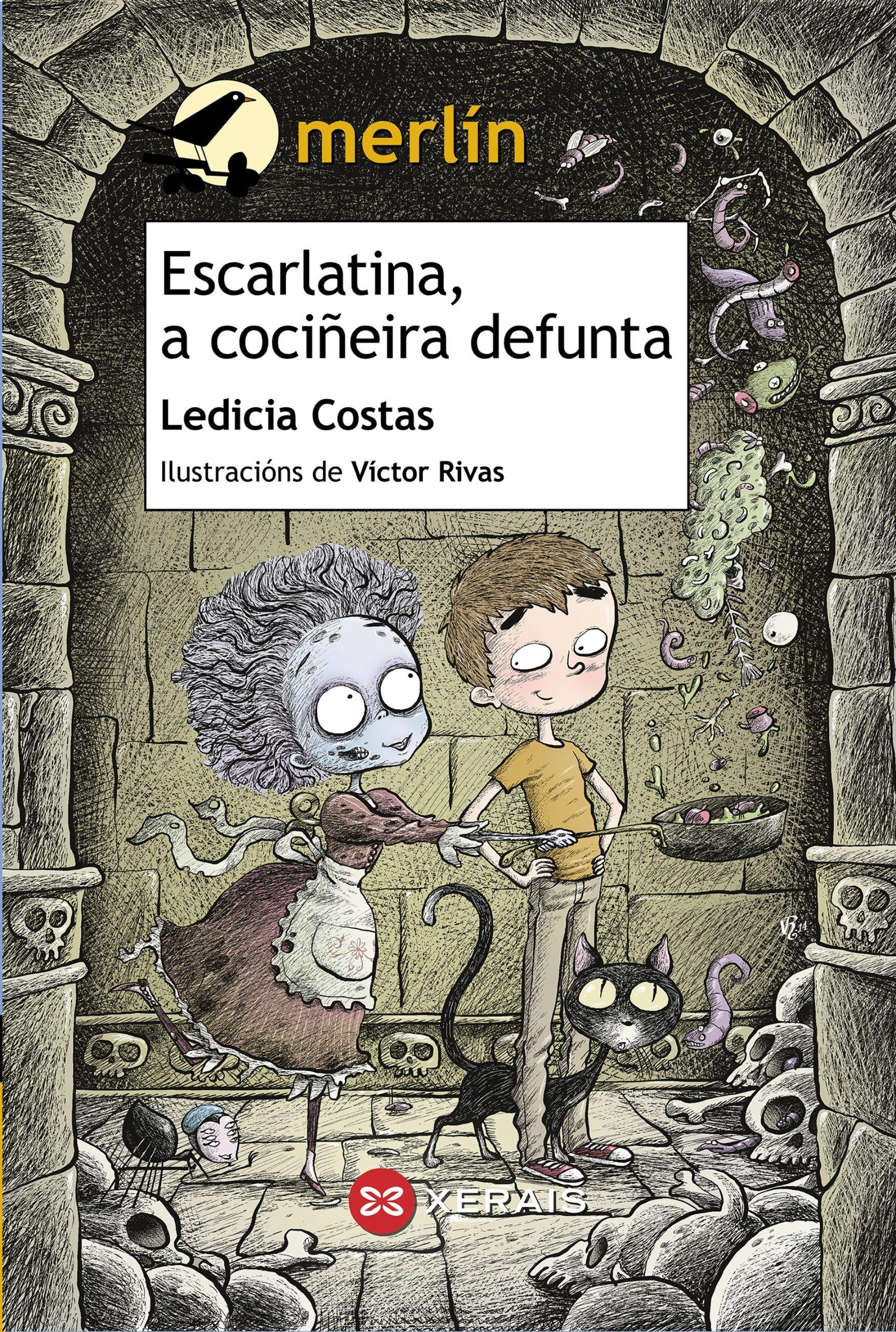 Escarlatina, A Cociñeira Defunta   por Ledicia Costas epub
