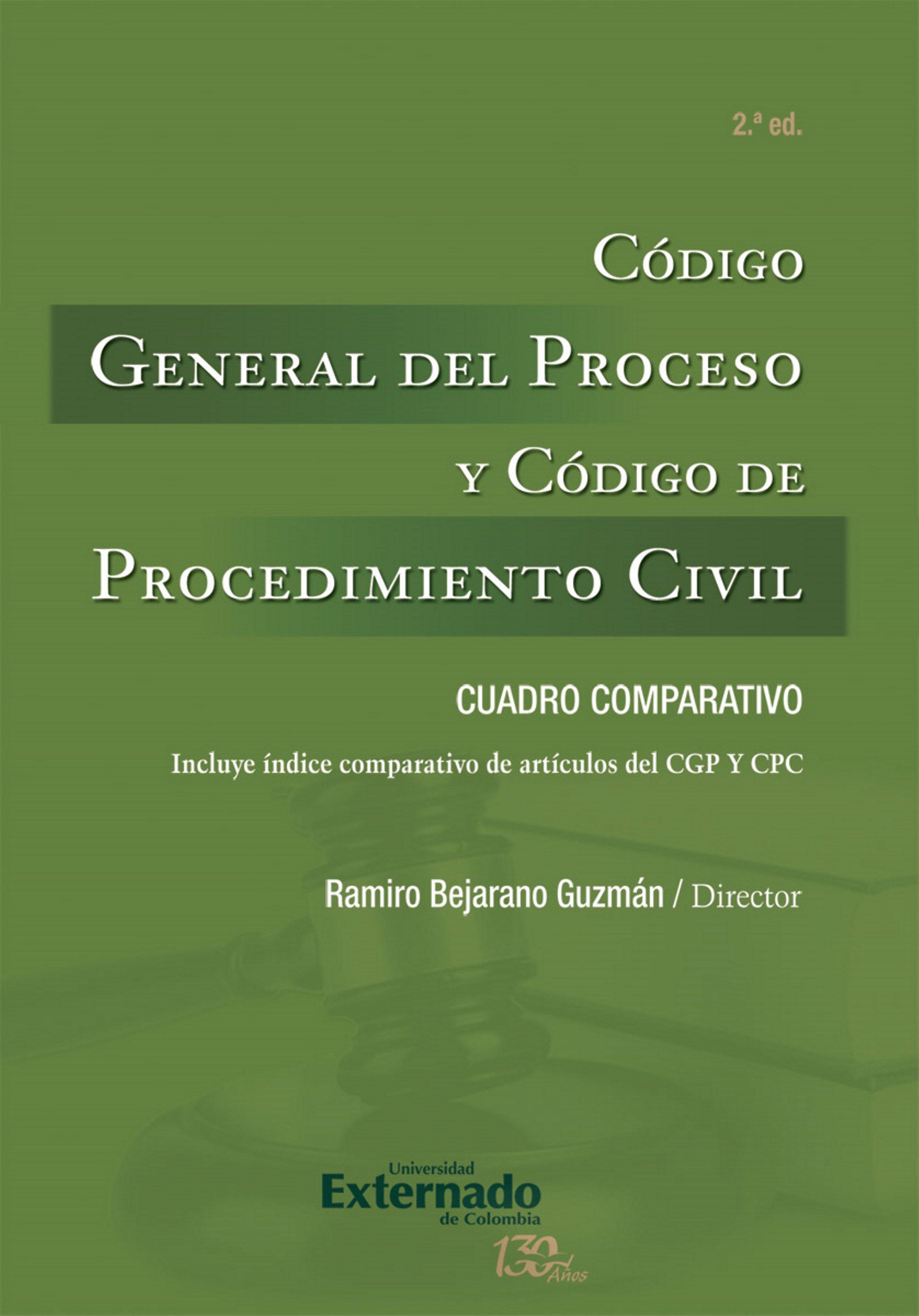 codigo general del proceso pdf descargar