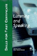 Skills For First Certificate (fce): Listening And Speaking - 3 Ca Ssettes por Malcolm Mann;                                                                                                                                                                                                          Steve Taylore-knowles