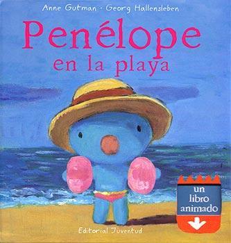 Penelope En La Playa por Anne Gutman