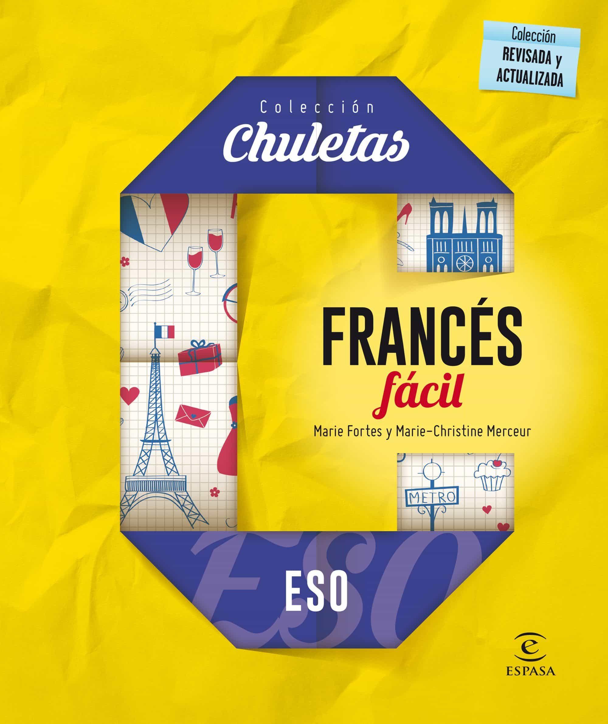 Francés Fácil Para La Eso (chuletas 2016) por Vv.aa.