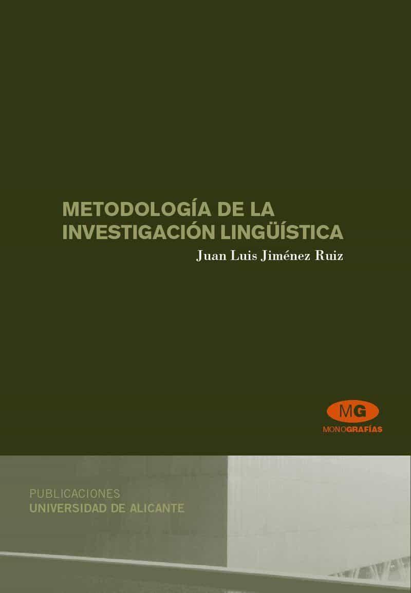 Metodologia De La Investigacion Linguistica por Vv.aa. epub