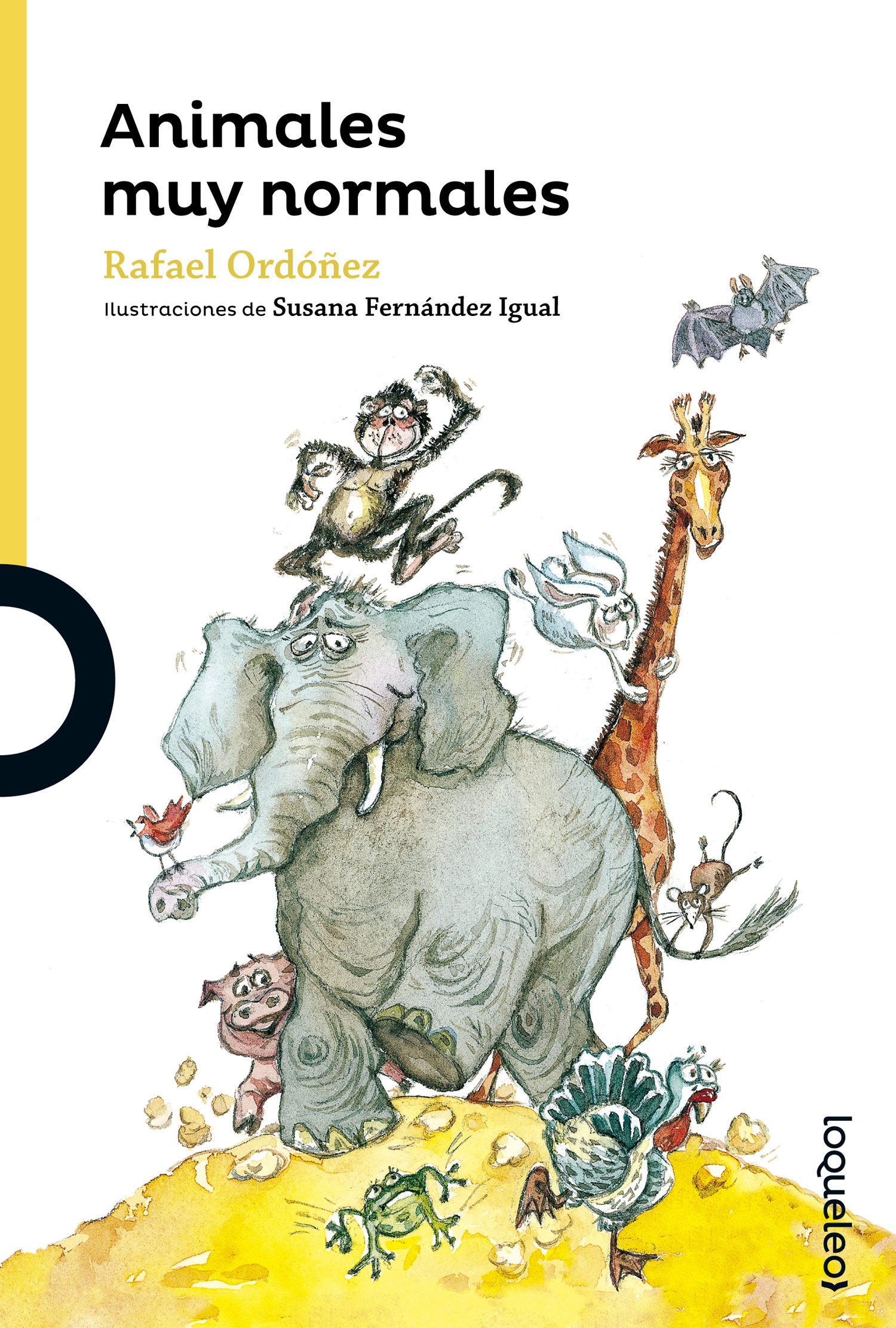 Animales Muy Normales por Rafael Ordoñez