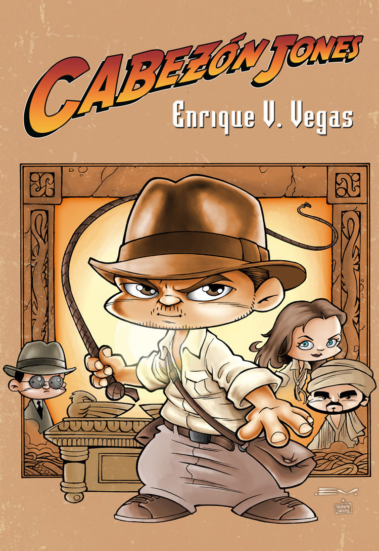Cabezon Jones (obra Completa) (2ª Ed) por Enrique V. Vegas