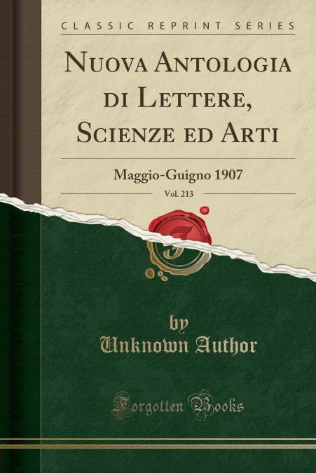 Nuova Antologia Di Lettere, Scienze Ed Arti, Vol. 213 - Los mejores libros electrónicos gratuitos para descargar