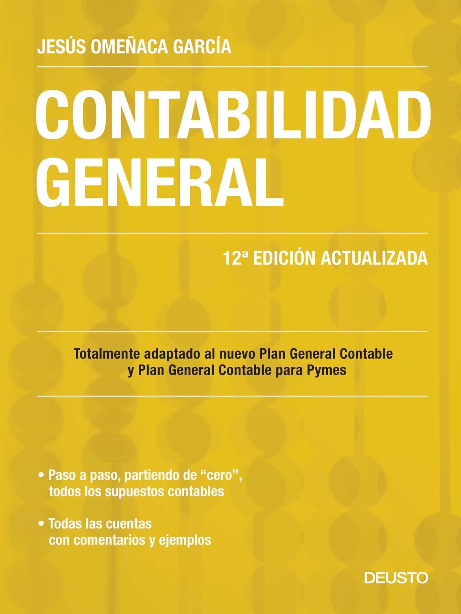contabilidad general adaptada al nuevo pgc y pgc pymes 11º edicion