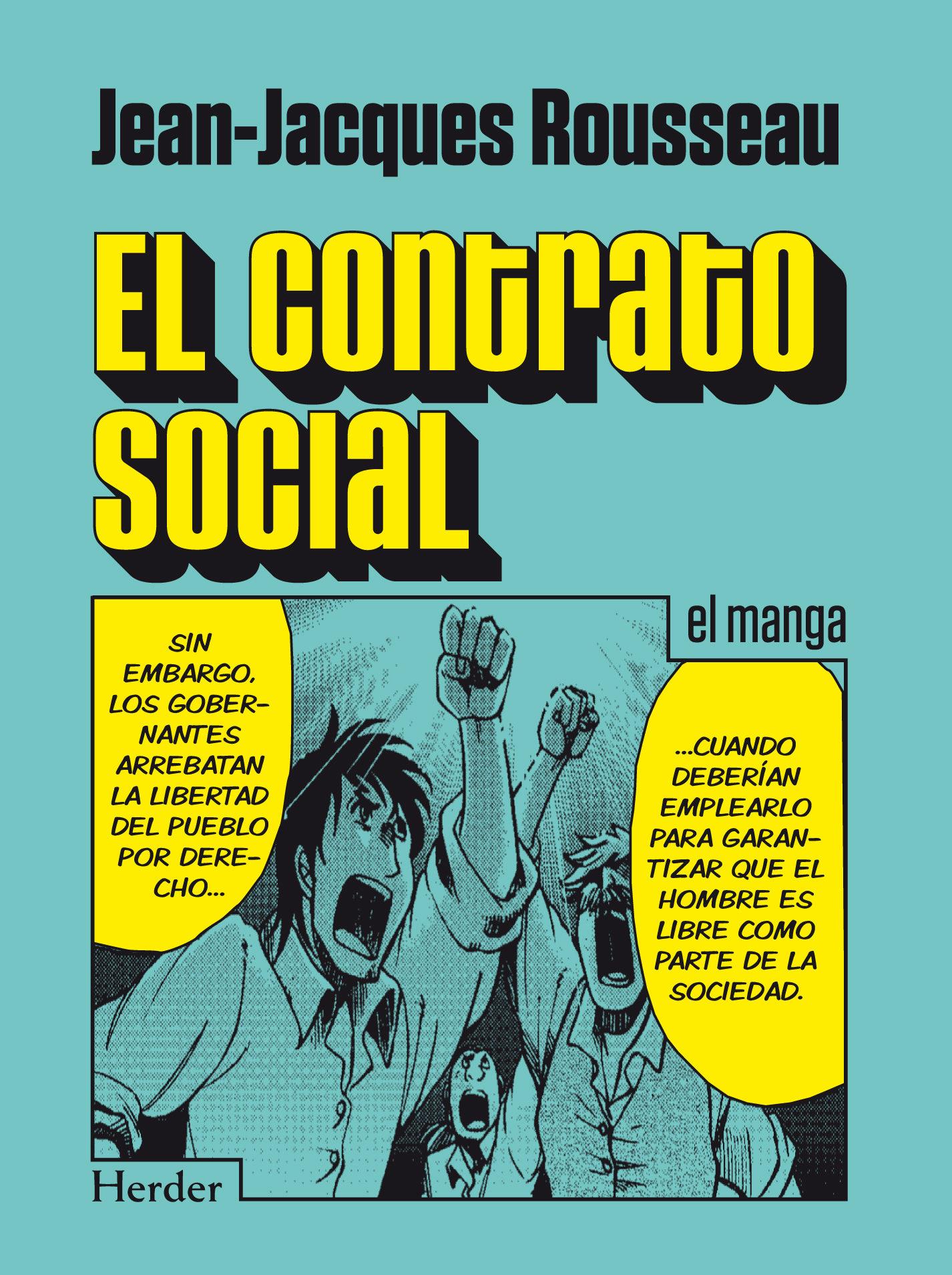 El contrato social el manga jean jacques rousseau 9788425431340
