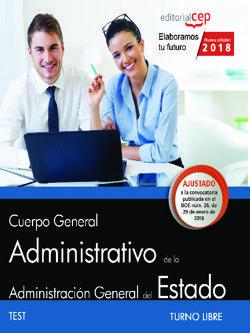 Oposiciones Ministerios Administrativo (turno Libre) Test por Vv.aa.