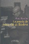 La Poesia De Jaime Gil De Biedma por Pere Rovira epub