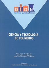 Ciencia Y Tecnologia De Polimeros por Maria Cinta Vicent Vela;                                                                                                                                                                                                          Silvia Alvarez Blanco; epub