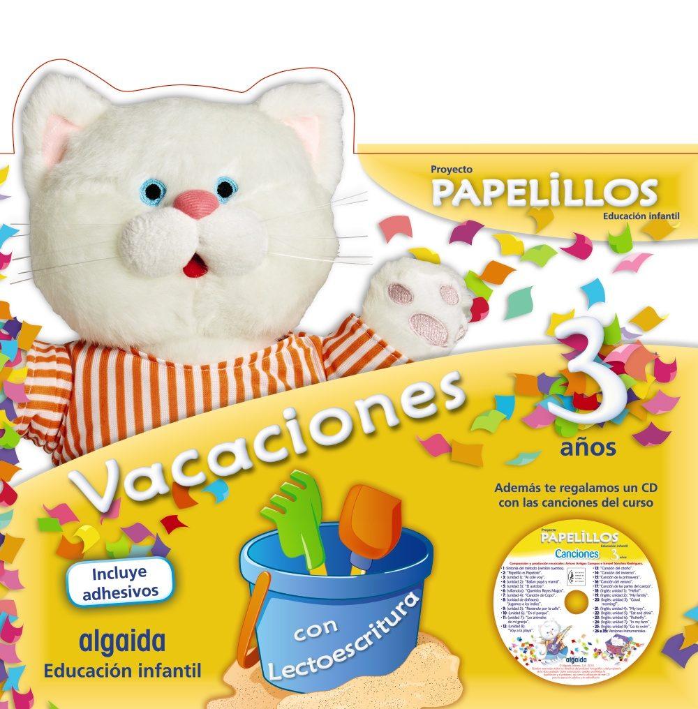 vacaciones papelillos 3 (cd musica y pegatinas)-9788498776140