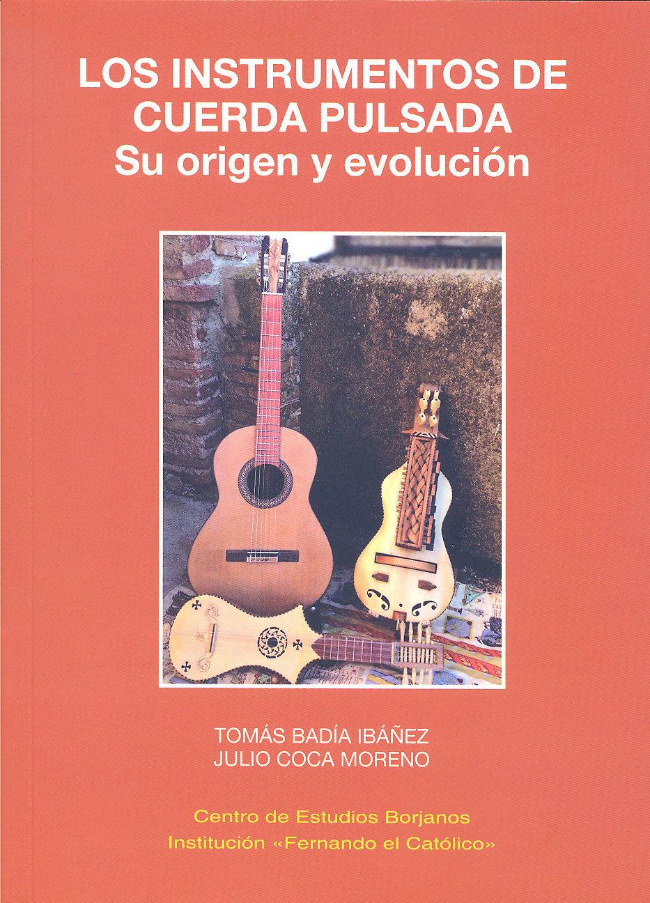 los instrumentos de cuerda pulsada-tomas badia ibañez-9788499112640