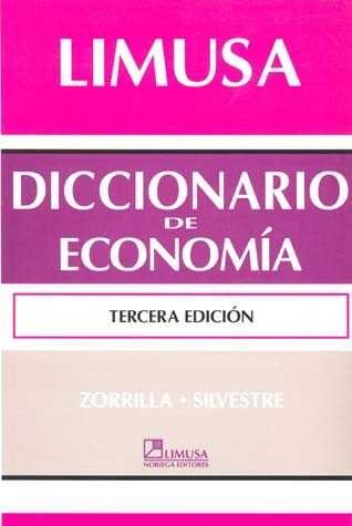 Diccionario De Economia por Zorrilla Santiago A. Gratis