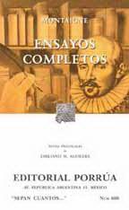 Ensayos Completos por Michael De Montaigne epub