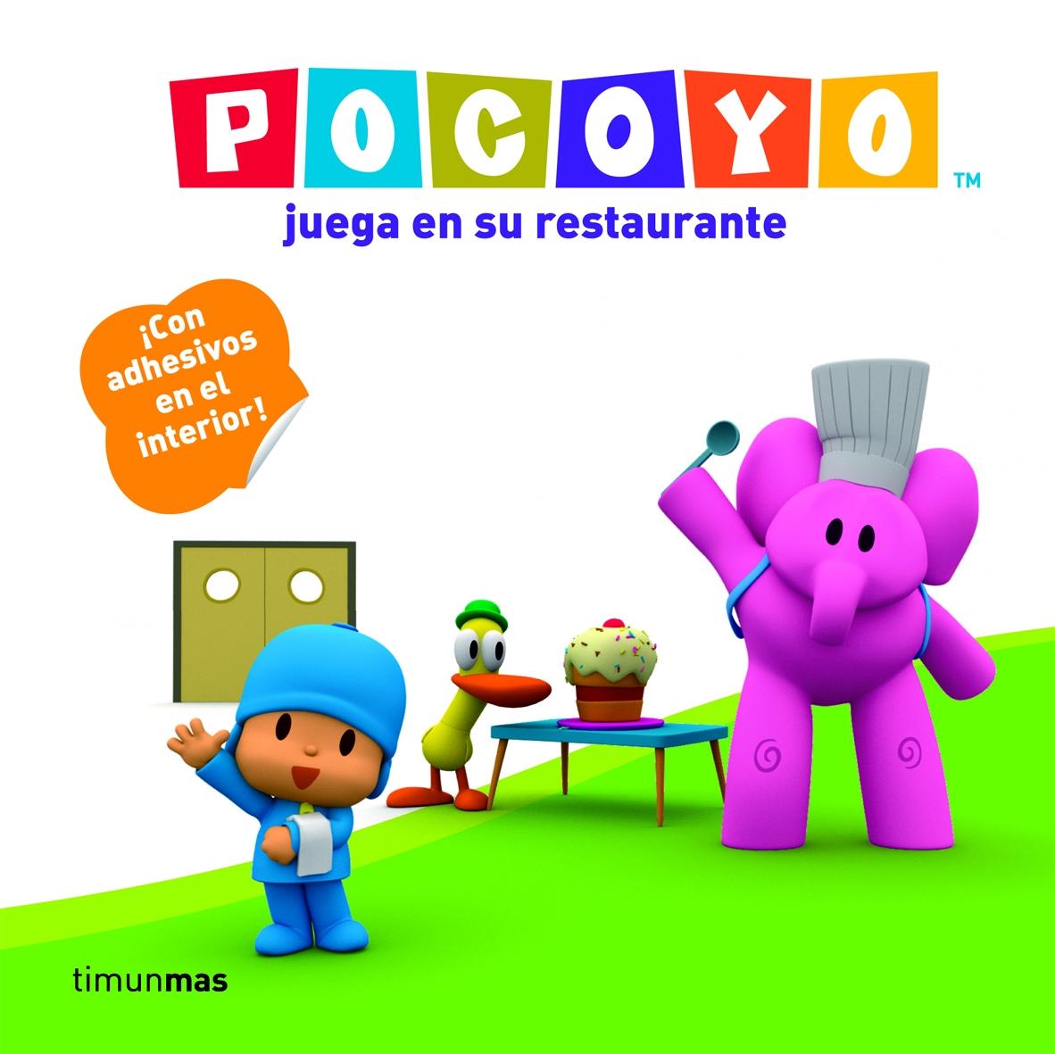 Pocoyo Juega En Su Restaurante (incluye Adhesivos) por Zinkia epub