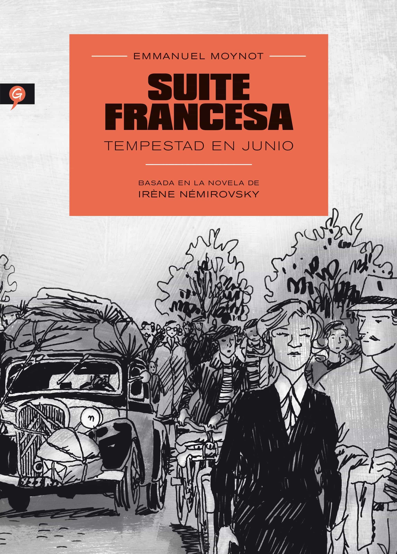 suite francesa (novela grafica)-irene nemirovsky-9788416131150