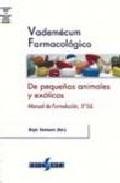 (i.b.d.) Vademecum Farmacologico De Pequeños Animales Exoticos: Formulacion (5ª Ed.) por Bryn Tennat epub
