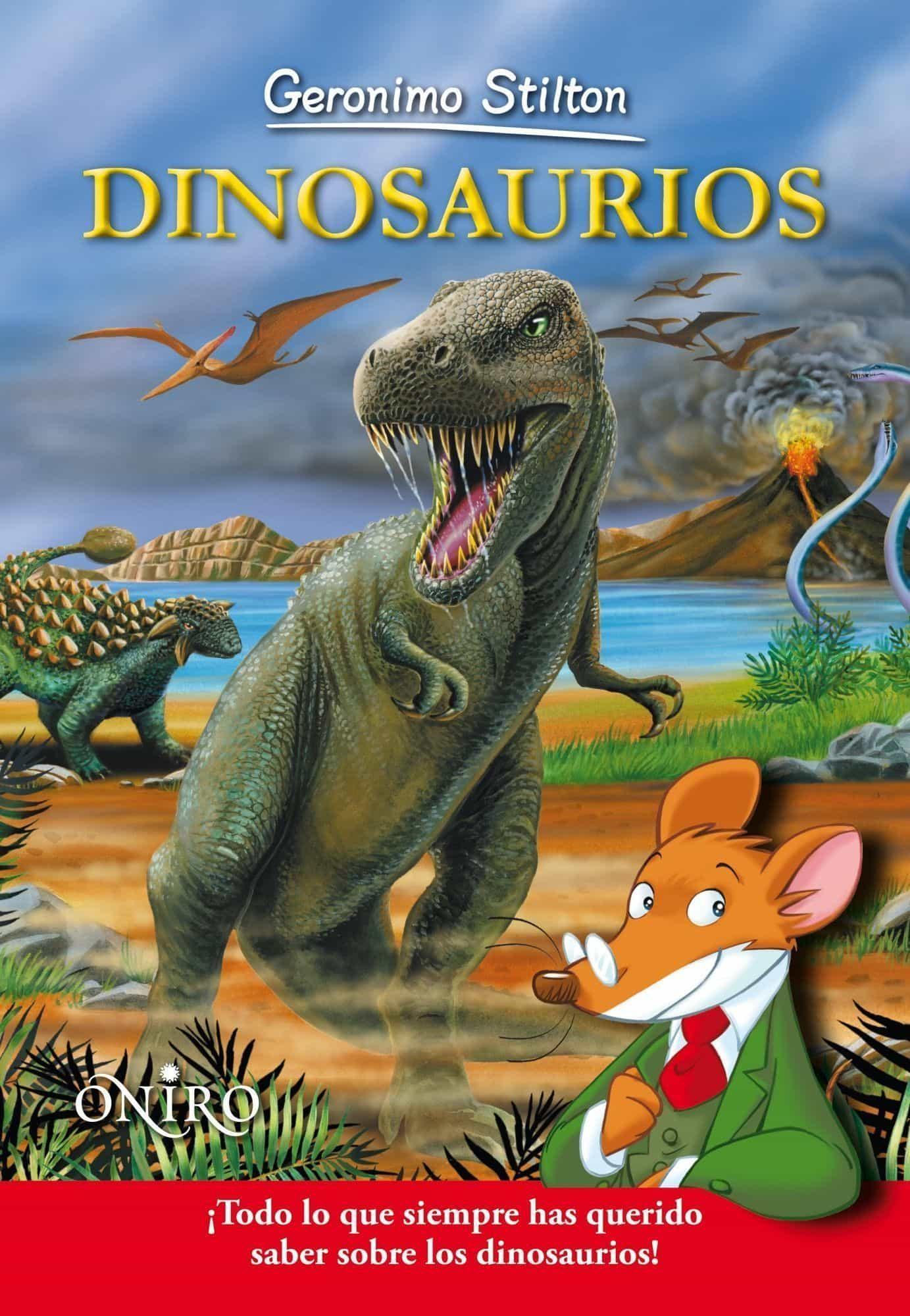 DINOSAURIOS | GERONIMO STILTON | Comprar libro 9788497545150