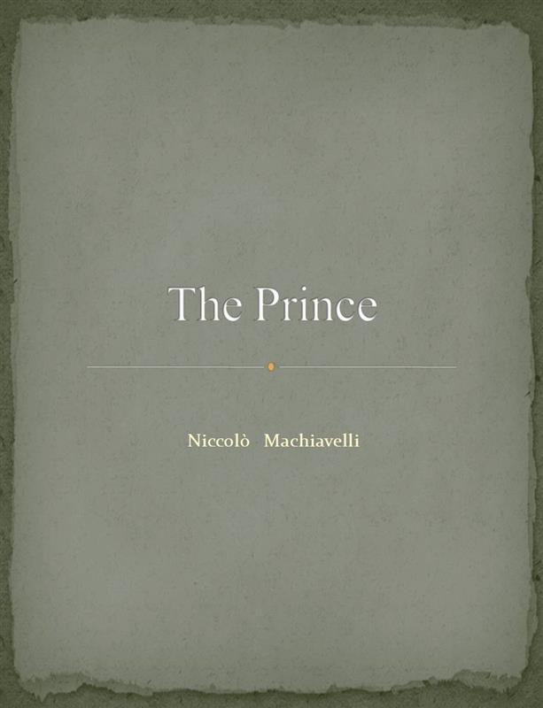 Niccolo Machiavelli Vladar Ebook