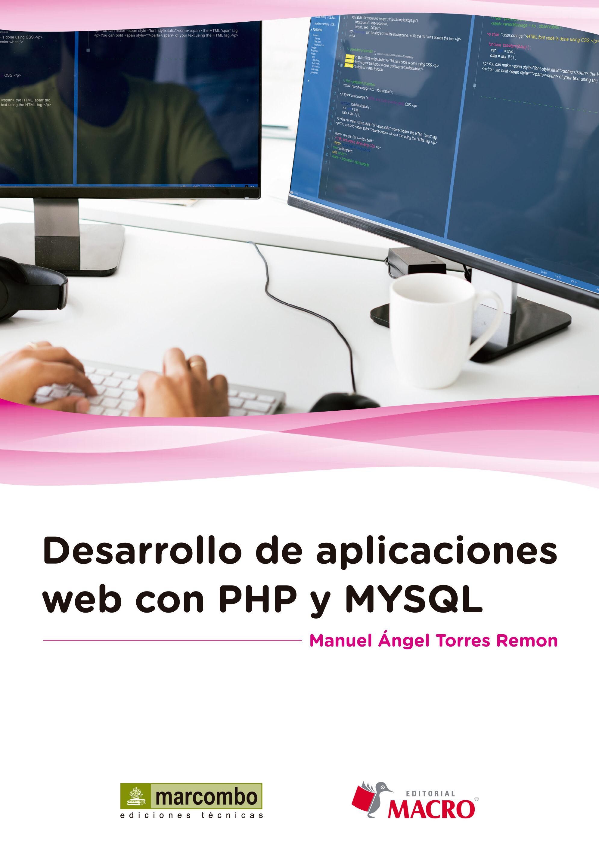 desarrollo de aplicaciones web con php y mysql-manuel �ngel torres remon-9788426723260