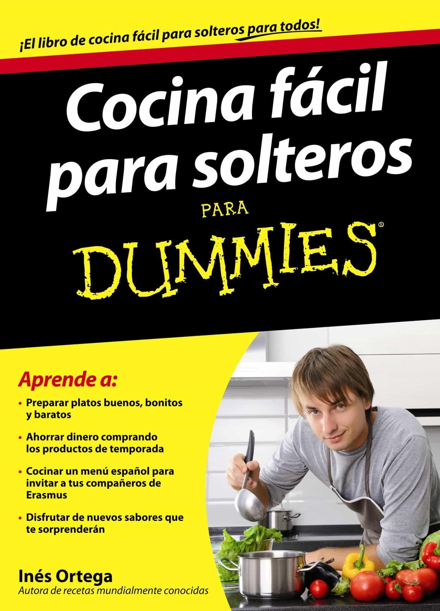 Cocina Para Solteros | Cocina Facil Para Solteros Para Dummies Ines Ortega Comprar