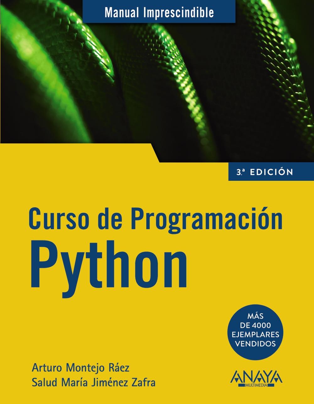 CURSO DE PROGRAMACION PYTHON (MANUALES IMPRESCINDIBLES