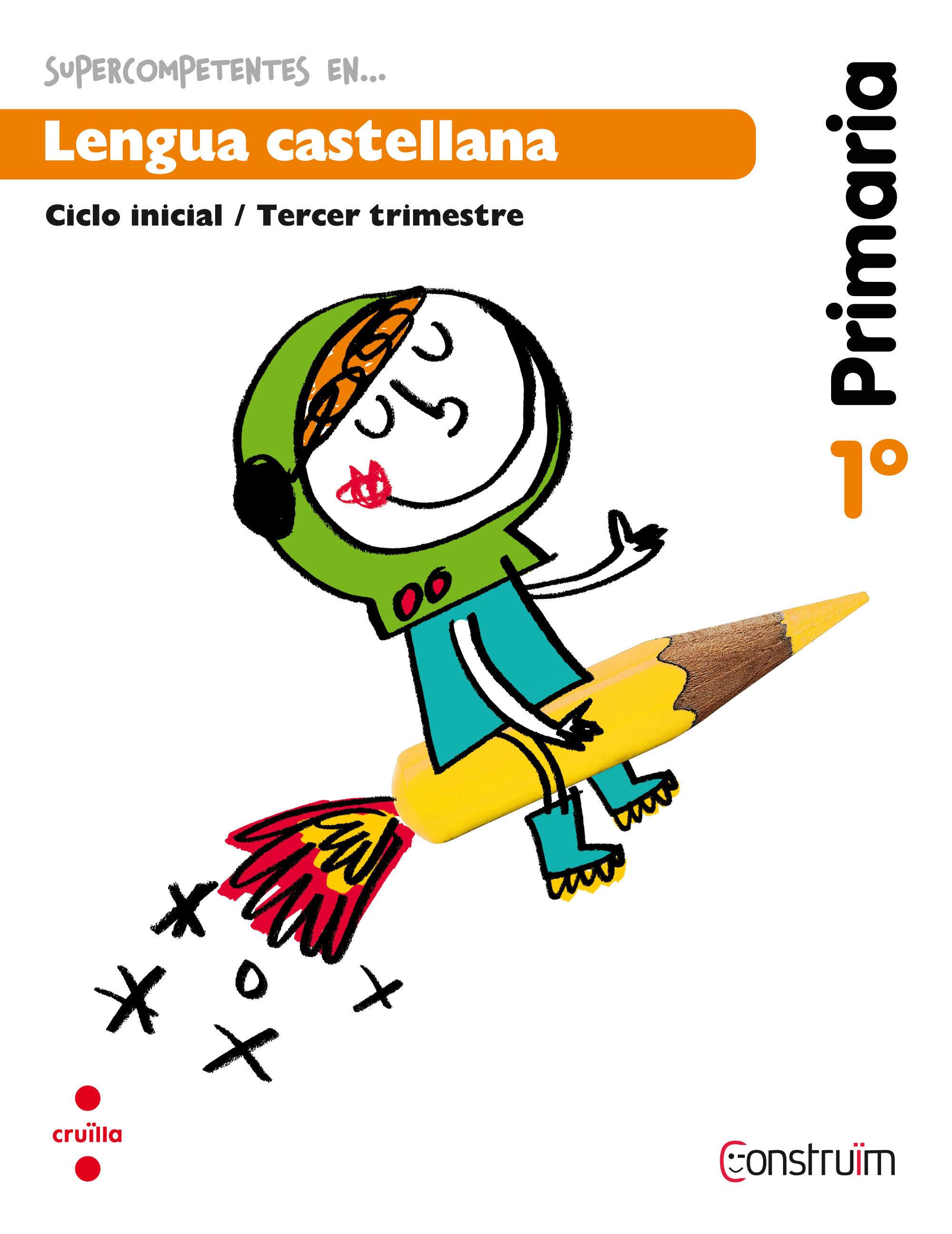 Lengua Castellana. Cuaderno De Actividades 3. Construïm 1º Educacion Primaria Ed 2014 por Vv.aa. epub