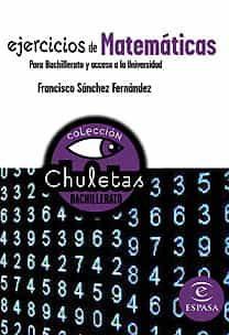 matematicas faciles para bachillerato (chuletas)-9788467027860