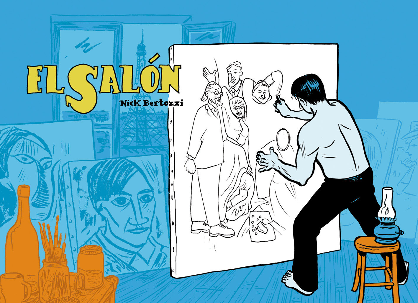 El Salon por Nick Bertozzi epub