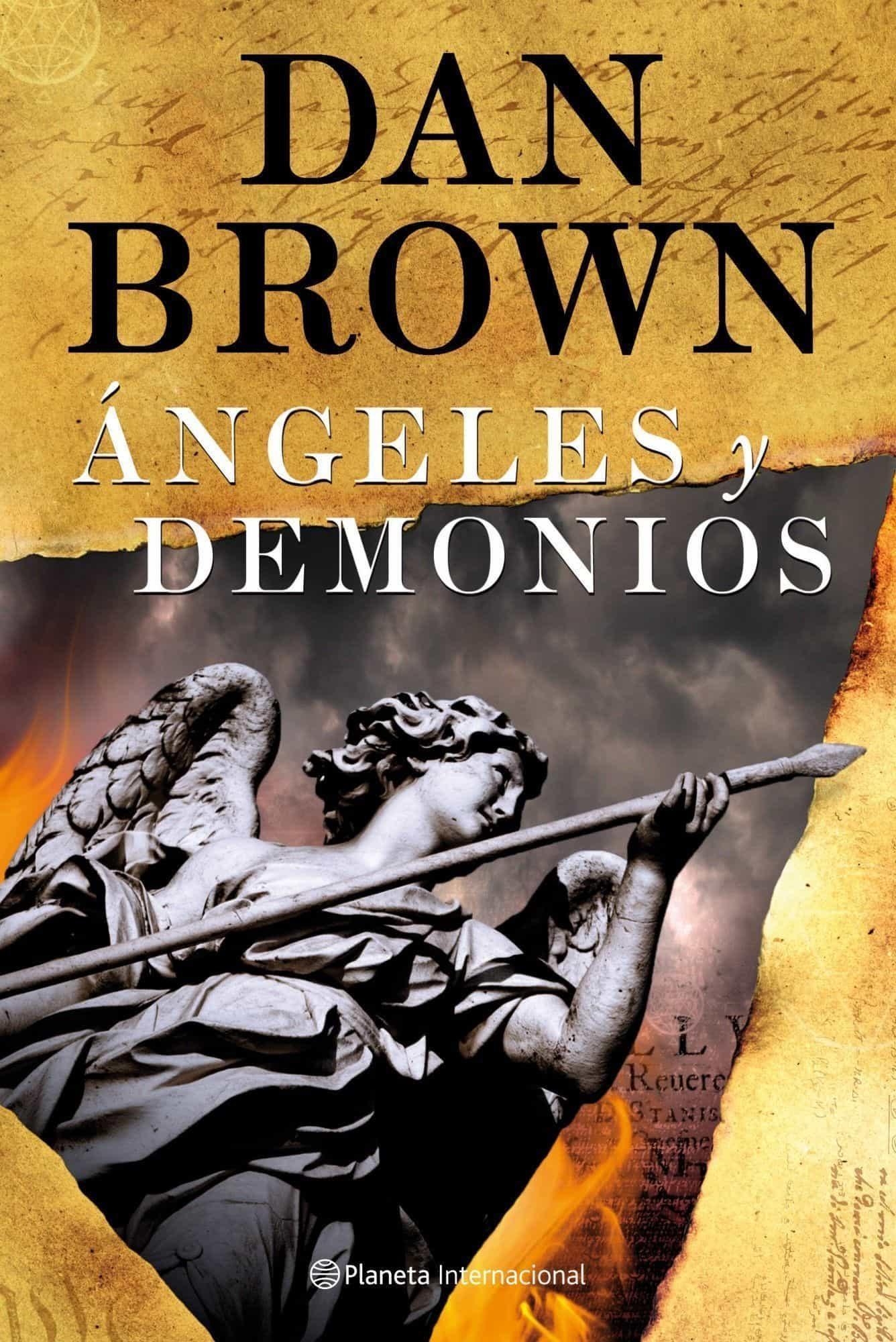 Resultado de imagen de angeles y demonios libro