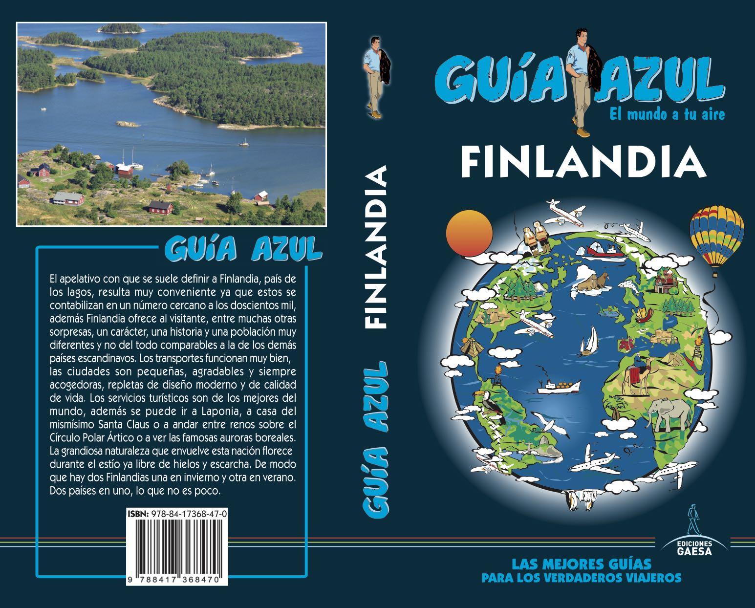 Finlandia 2018 (guia Azul) 5ª Ed. por Vv.aa.