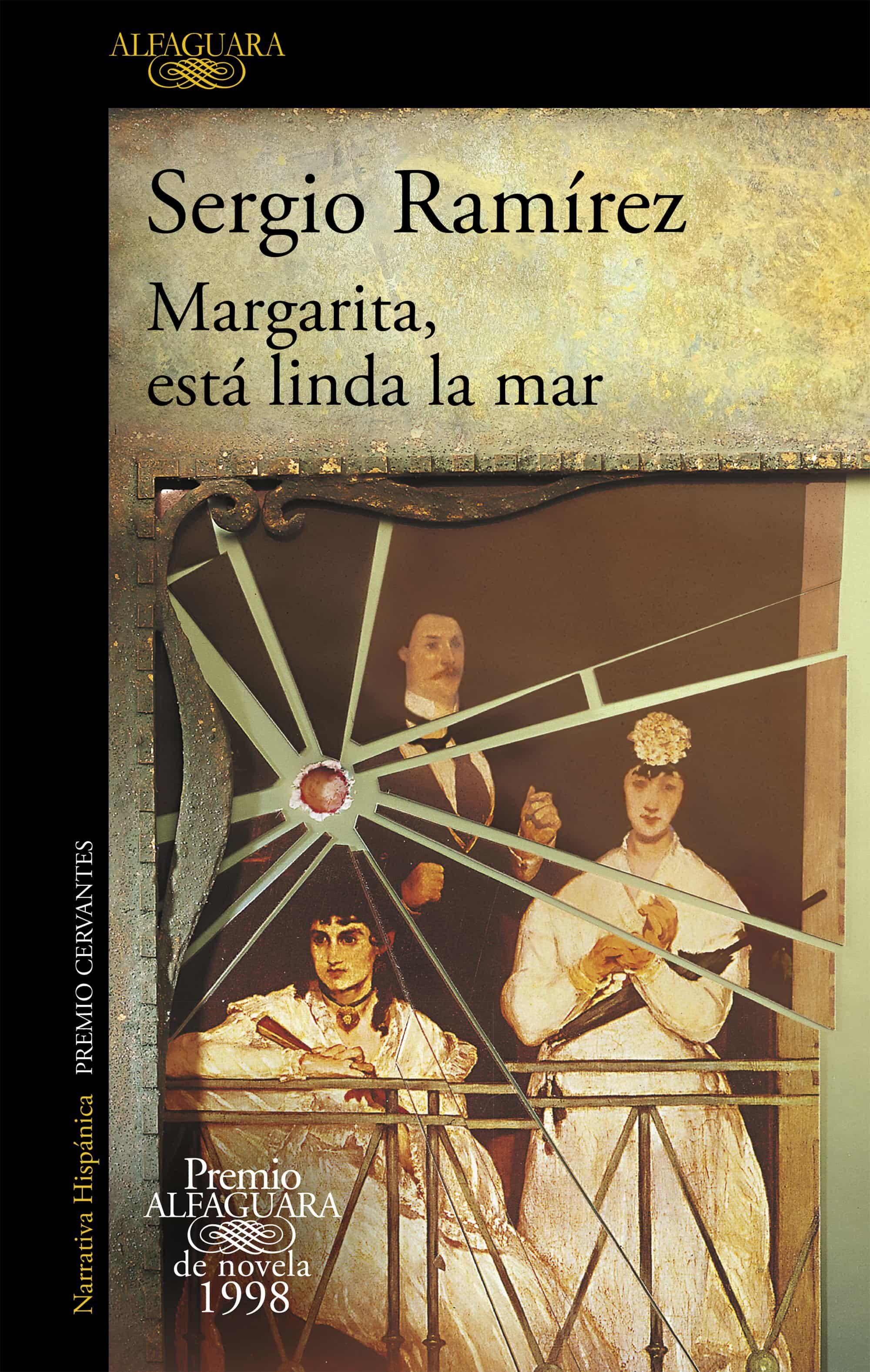 margarita, esta linda la mar (premio alfaguara de novela 1998)-sergio ramirez-9788420433370