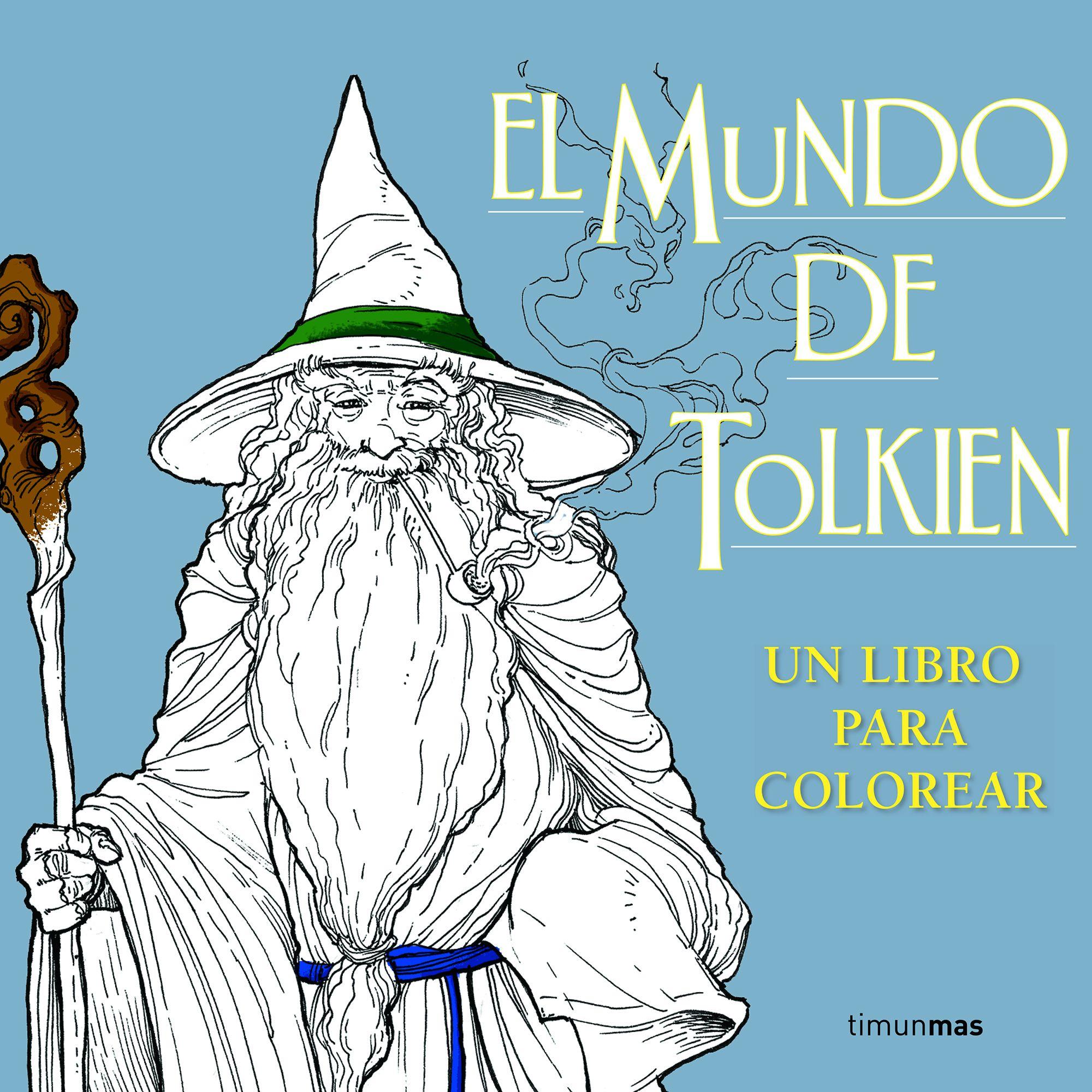 EL MUNDO DE TOLKIEN. UN LIBRO PARA COLOREAR | VV.AA. | Comprar libro ...